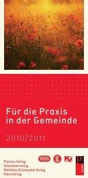 Für die Praxis in der Gemeinde - Patmos Verlag