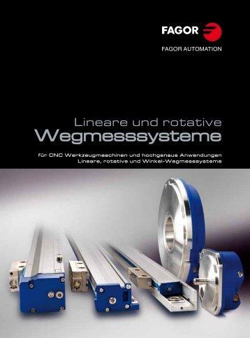 Lineare Wegmesssysteme - Fagor Automation