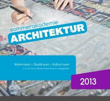 Sommerakademie Architektur 2013