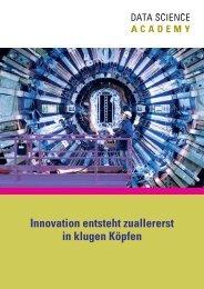 Innovation entsteht zuallererst in klugen Köpfen