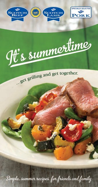 Simple, summer recipes for friends and family - AD Paton Butchers