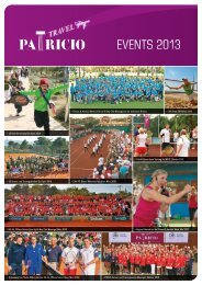 Reiseangebot - Patricio Sport Events