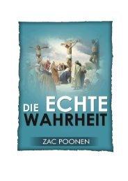 Die echte Wahrheit - Zac Poonen