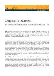 Télécharger le document - Patrimoine de la ville d'Arles