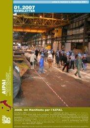 2008. Un Manifesto per l'AIPAI. - Associazione Italiana per il ...
