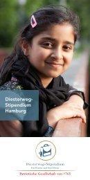Diesterweg- Stipendium Hamburg - Patriotische Gesellschaft von 1765