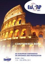 CONFERENCE BOOK - Eucap 2011