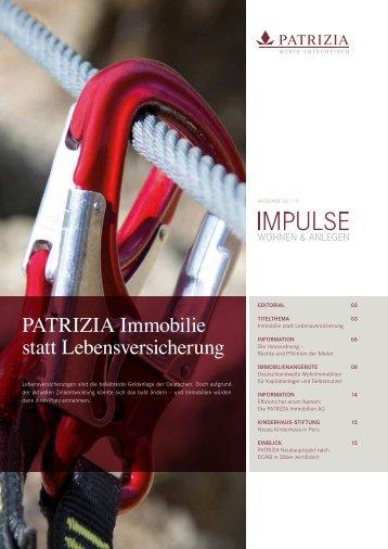 """IMPULSE"" Der Newsletter für Kapitalanleger (pdf) - PATRIZIA ..."