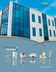 Dentaire Catalogue - Patterson Dental/Dentaire Canada