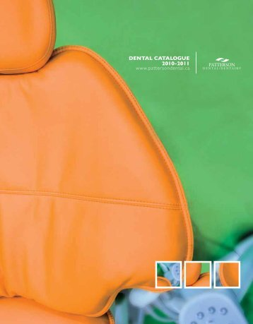dental catalogue 2010-2011 - Patterson Dental/Dentaire Canada