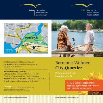 Betreutes Wohnen City-Quartier - Deutsche Seniorenstift Gesellschaft
