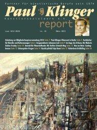 Heft 41/13 Download PDF - Paul-Klinger-Künstlersozialwerk eV