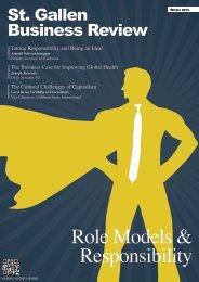 Role Models & Responsibility