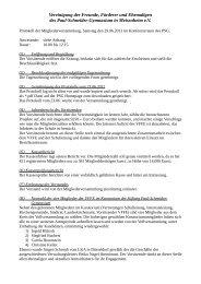 Protokoll der Mitgliederversammlung vom 29. Juni 2013
