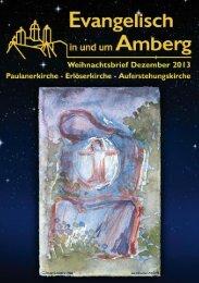 Weihnachts-Gemeindebrief 2013 - Paulanerkirche