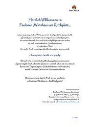 PDF Speisekarte & Getränkekarte zum Download - Paulaner ...