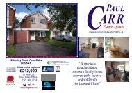 22 Loxley Drive Sales Details NEW.pub - Paul Carr Estate Agents