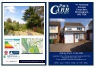 sales details approved - 41 foxwood avenue - Paul Carr Estate Agents
