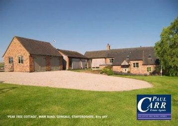 pear tree cottage - Paul Carr Estate Agents