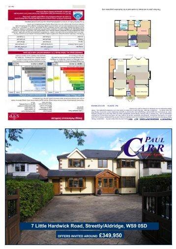 7 Little Hardwick Road sales details - Paul Carr Estate Agents
