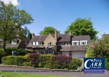 34 featherston road, streetly, sutton coldfield, b74 3jn - Paul Carr ...
