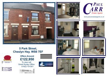 PARK STREET 5 - Paul Carr Estate Agents