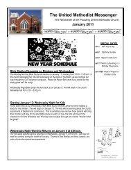 The United Methodist Messenger - Paulding County Carnegie Library