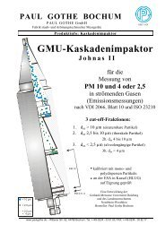 Impaktor Johnas - Paul Gothe GmbH