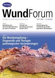 Die Wundumgebung – Diagnostik und Therapie pathologischer ...