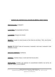 EXTRATO DE CONTRATO DE LOCAÇÃO DE IMÓVEL SOB Nº 04 ...