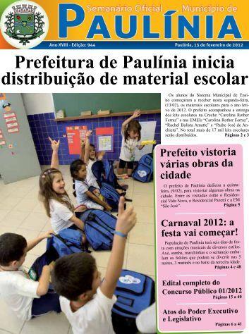 Prefeitura de Paulínia inicia distribuição de material escolar