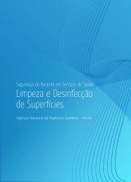 Limpeza e Desinfecção de Superfícies - Anvisa