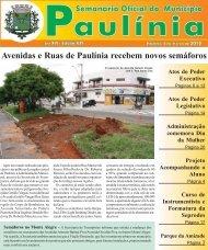 Avenidas e Ruas de Paulínia recebem novos semáforos - Prefeitura ...