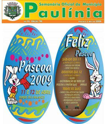semanario 790.p65 - Prefeitura Municipal de Paulínia
