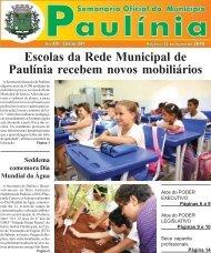 Escolas da Rede Municipal de Paulínia recebem novos mobiliários