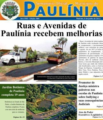 Ruas e Avenidas de Paulínia recebem melhorias - Prefeitura ...