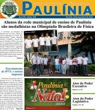 Alunos da rede municipal de ensino de Paulínia são - Prefeitura ...