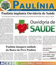 Paulínia implanta Ouvidoria de Saúde - Prefeitura Municipal de ...