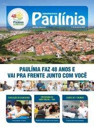 paulínia faz 48 anos e vai pra frente junto com você - Prefeitura ...