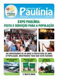 EXPO PAULÍNIA: - Prefeitura Municipal de Paulínia