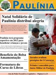 Natal Solidário de Paulínia distribui alegria - Prefeitura Municipal de ...
