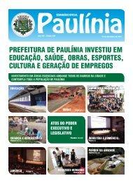 prefeitura de paulínia investiu em educação, saúde, obras, esportes ...