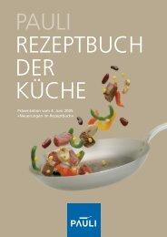 Präsentation vom 4. Juni 2005 «Neuerungen im Rezeptbuch»
