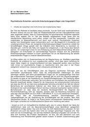 Referat Dr. iur. Marianne Heer-Hensler - Paulus-Akademie
