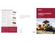 Hardox- Einsatz im Straßenbau - Paul Wiegand GmbH
