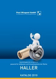 HALLER - Paul Wiegand GmbH