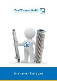 Imagebroschüre englisch - Paul Wiegand GmbH