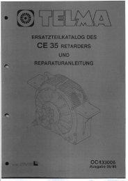 Reparaturanleitung TELMA CE 35 - Paul Wiegand GmbH