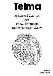 Ersatzteilkatalog der Focal-Retarder - Paul Wiegand GmbH