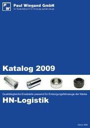 Katalog 2009 HN-Logistik - Paul Wiegand GmbH